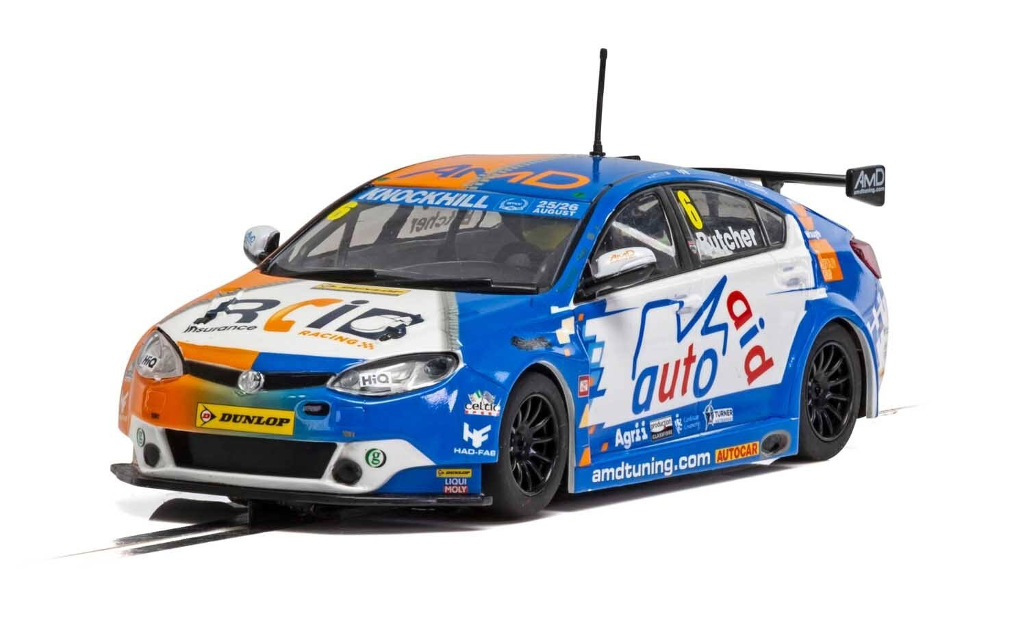 Scalextric C4017 MG6 GT AMD BTCC 2018 - Rory Butcher
