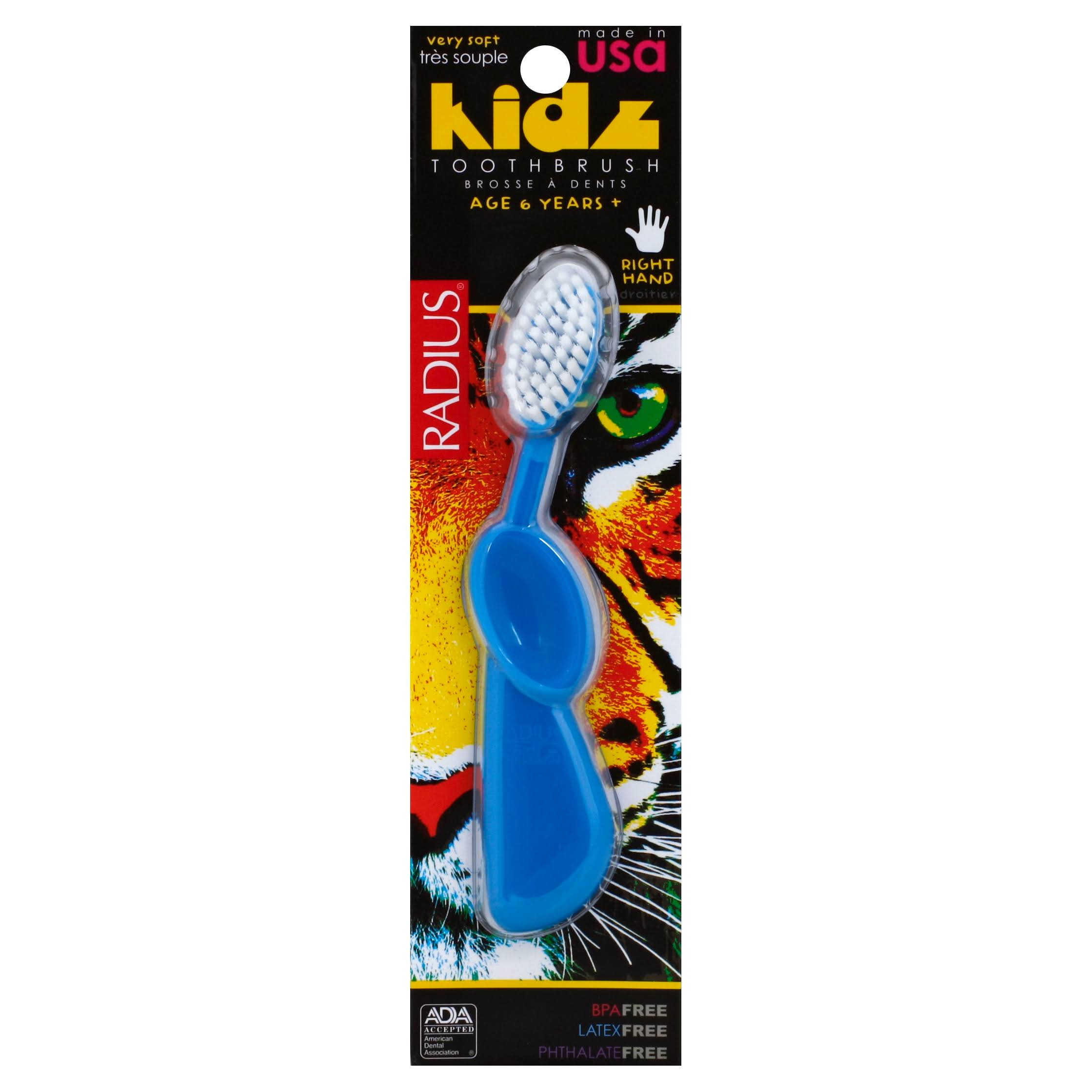 Radius Kidz Toothbrush - Right Hand