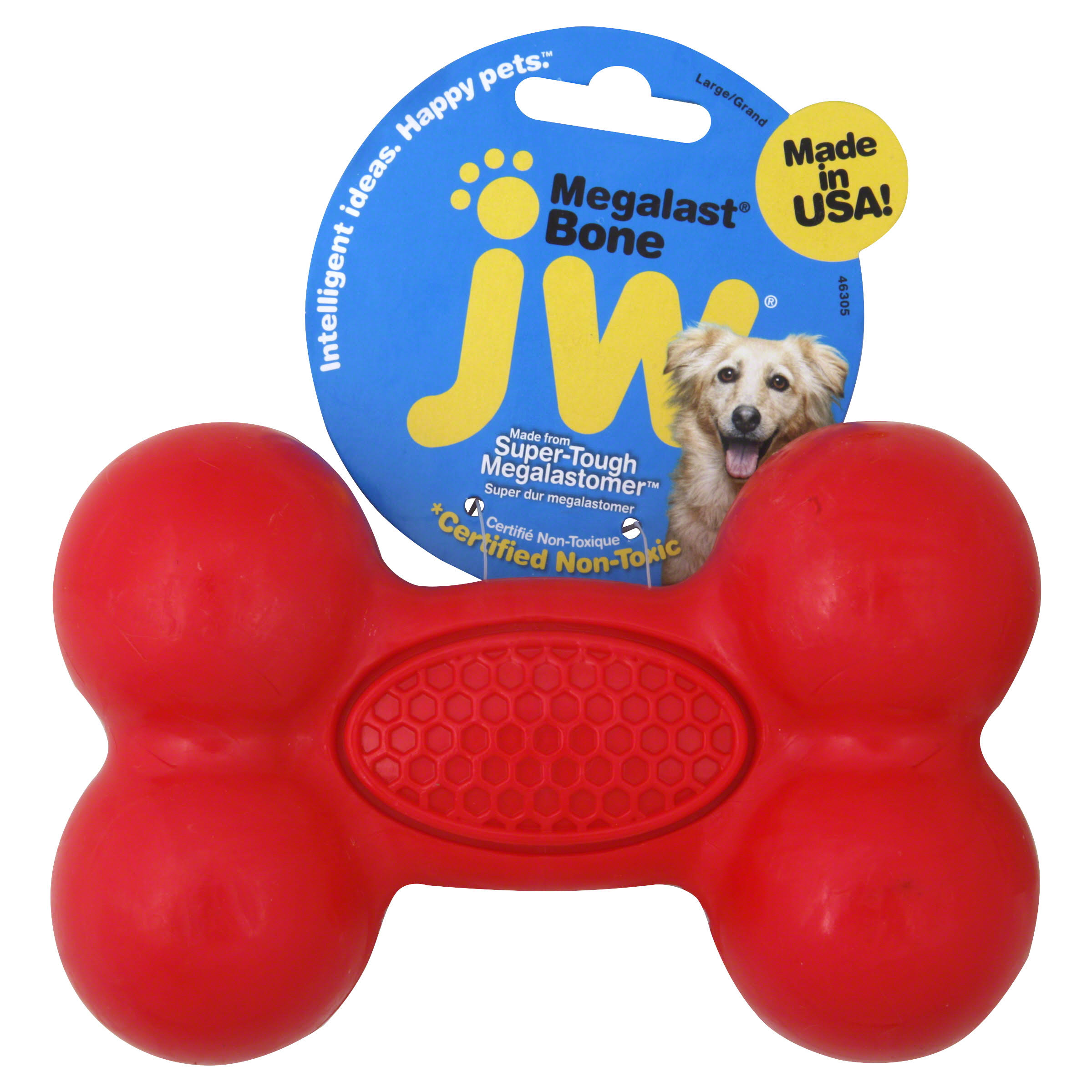 JW Pet Company Megalast Bone Dog Toy