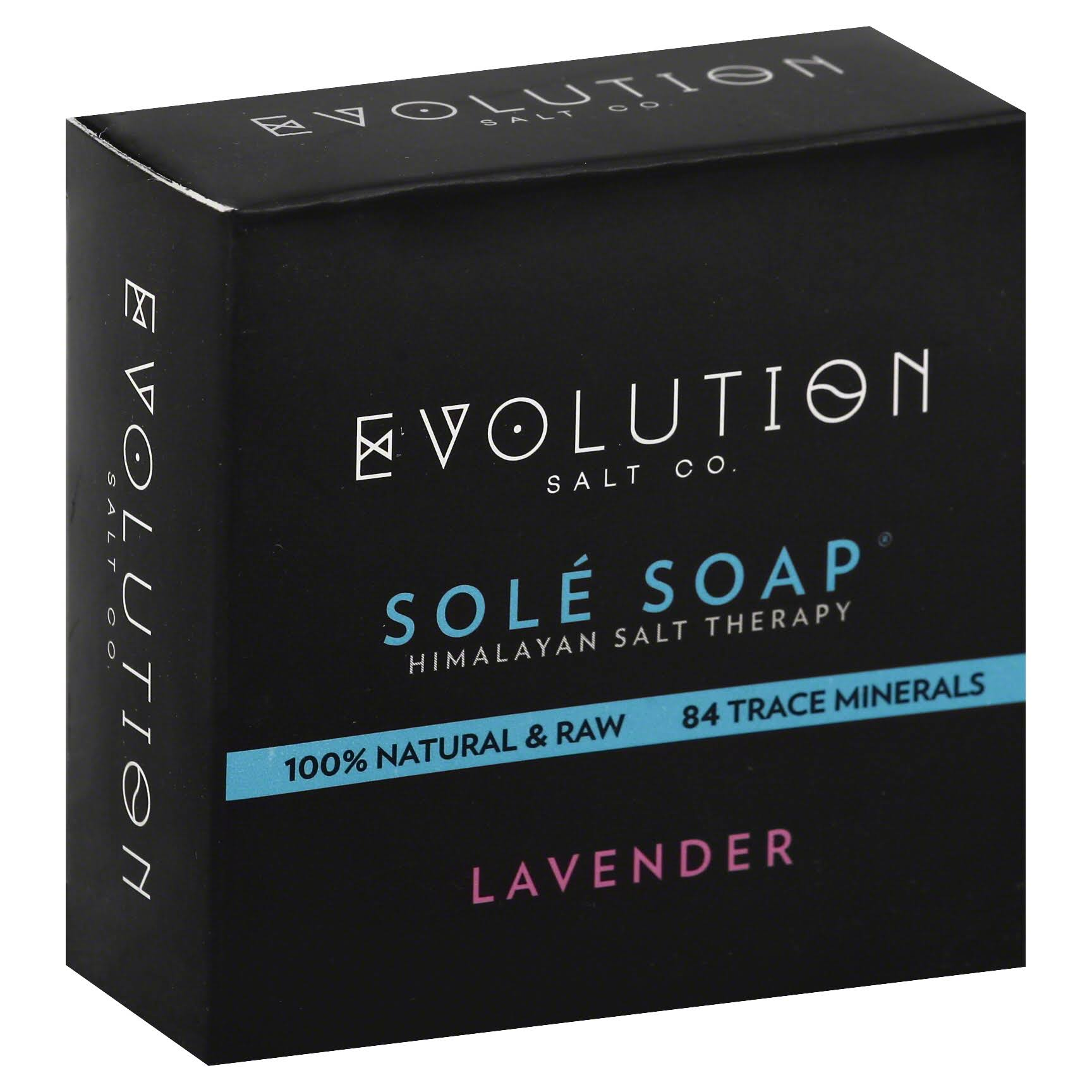 Evolution Himalayan Salt Sole Soap - Lavender, 4.5oz