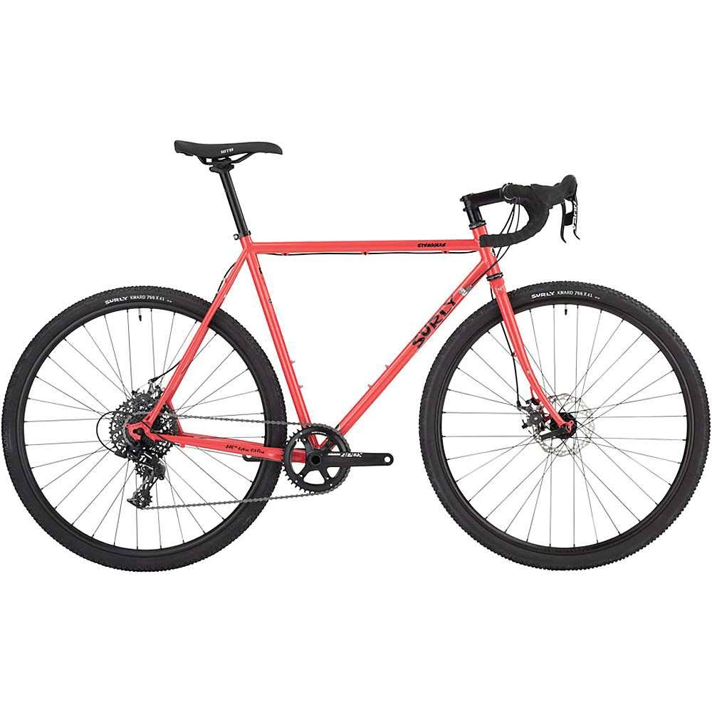 Surly Straggler 700c Complete Bike 58cm Red-Salmon Candy