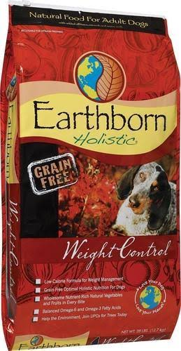 Earthborn Holistic Grain Free Dog Food - Weight Control, Adult, Dry