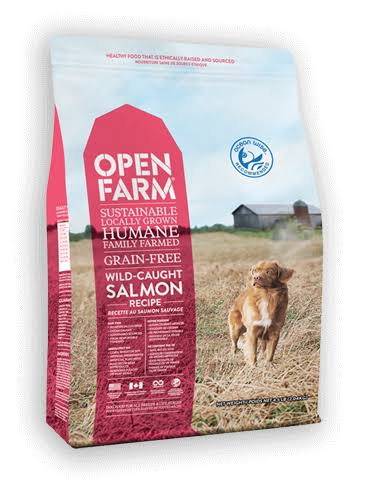 Open Farm Wild-Caught Salmon Recipe Grain-Free Dry Dog Food 24 lbs