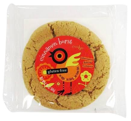 Alternative Baking Gluten Free Cinnamon Burst Cookie 2.25 oz.