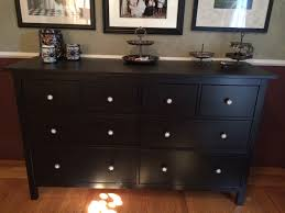Hemnes 6 Drawer Dresser Grey Brown by I Wanted A Big Horizontal Dresser For The Long Wall In My Bedroom