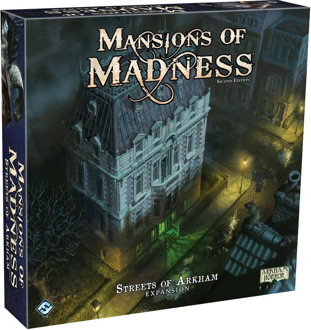 Fantasy Flight Games Mansions Of Madness Streets