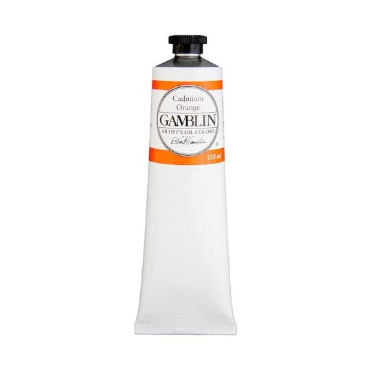 Gamblin Oil Color 150ml Cadmium Orange
