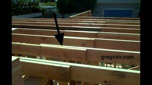 Engineered Floor Joists Uk by Wood Framing Ceiling Joist Laps Connections Home Building Tips