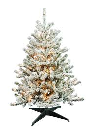 Vickerman Flocked Slim Christmas Tree by Amazon Com Barcana 4 Foot Flocked Tabletop Christmas Tree With