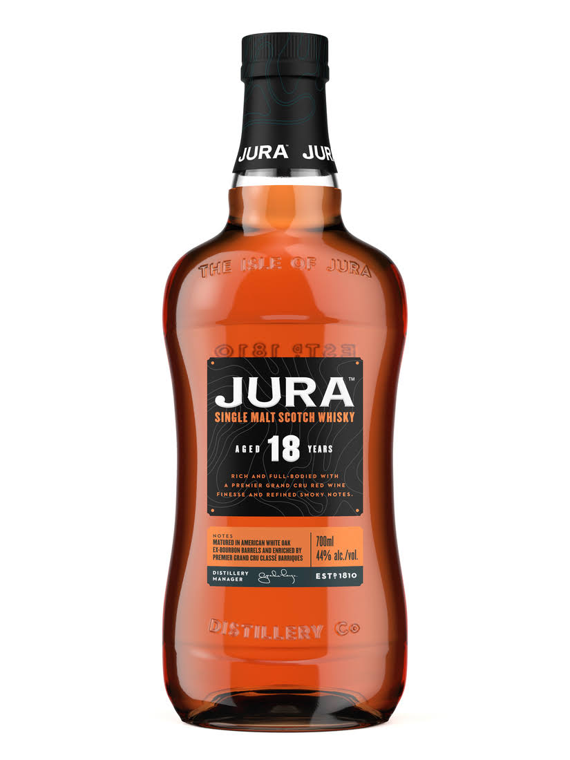 Jura 18 Year Single Malt Scotch Whisky - 750ml
