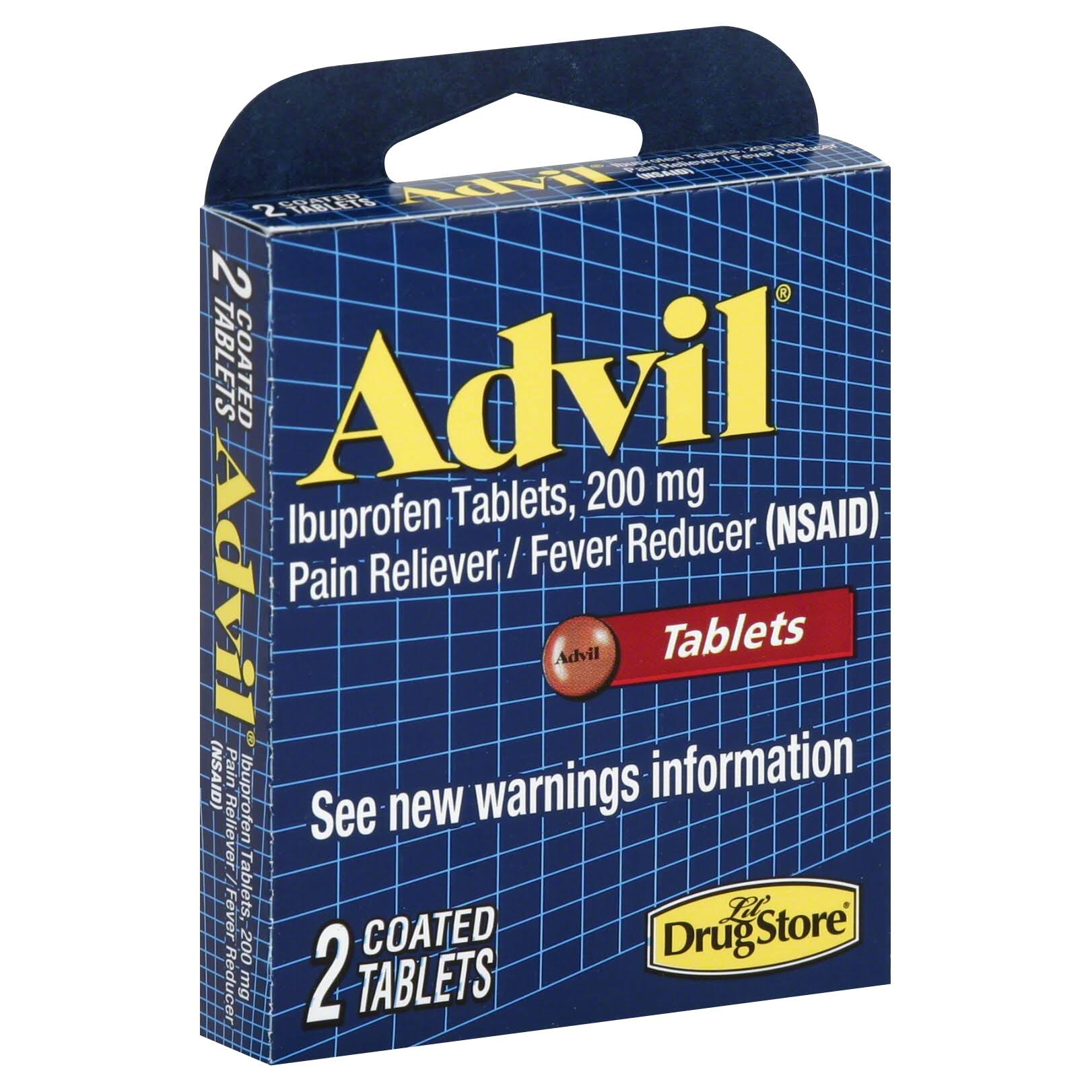 Advil Pain Reliever / Fever Reducer - 200mg