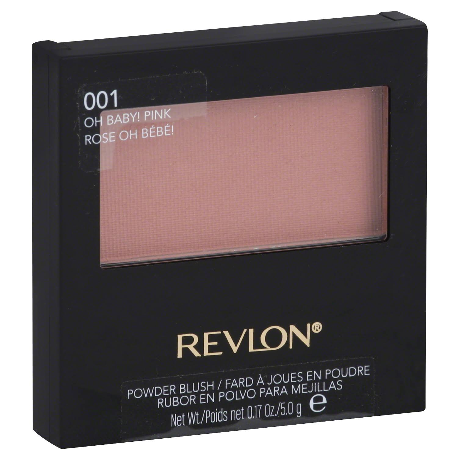 Revlon 001 Oh Baby! Pink Powder Blush - 0.17 oz