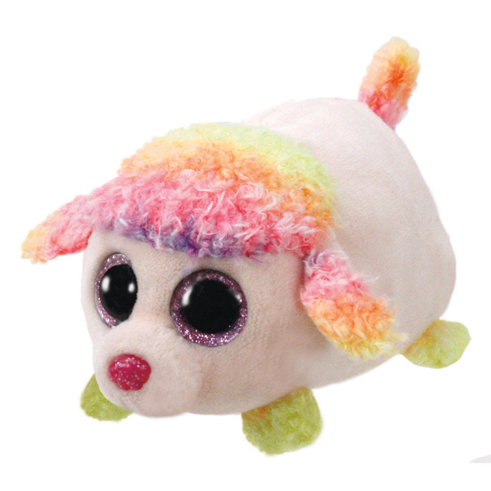 Ty Floral The Poodle Teeny Tys Plush
