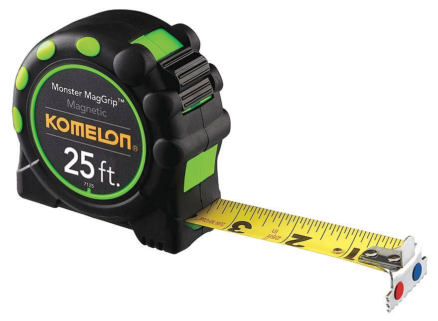 Komelon Monster MagGrip Measuring Tape