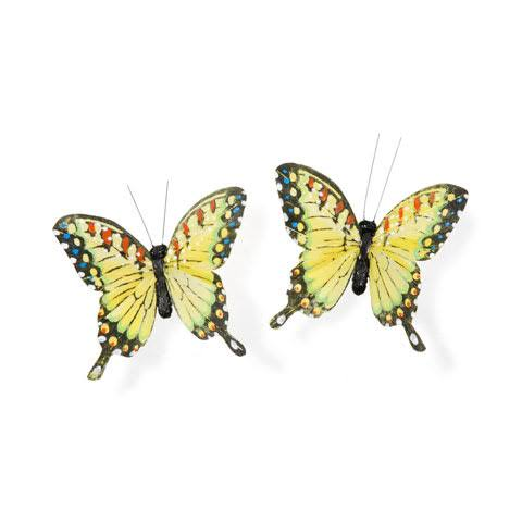 "Darice 2.75"" Feather Butterfly 2PC"