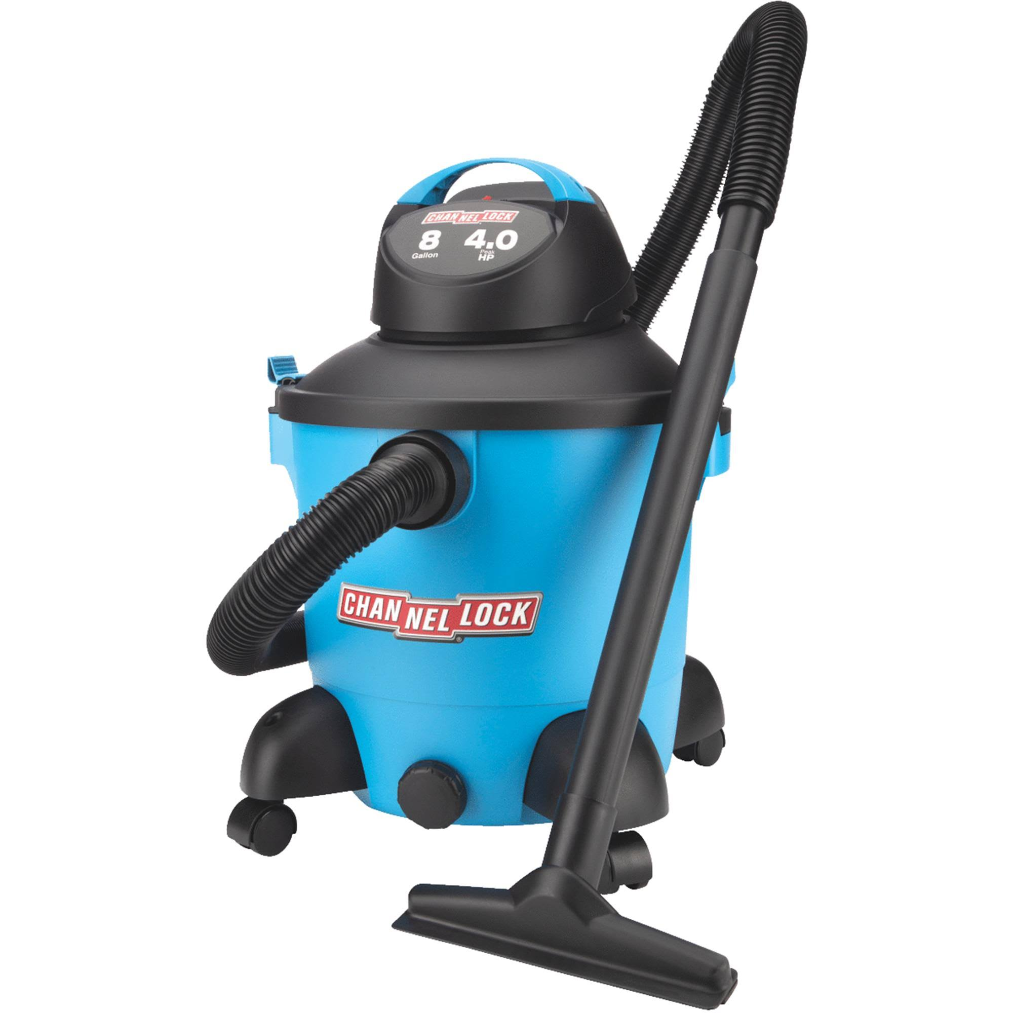 Channellock 8 gal. 4.0 HP Wet/Dry Vacuum 5902800