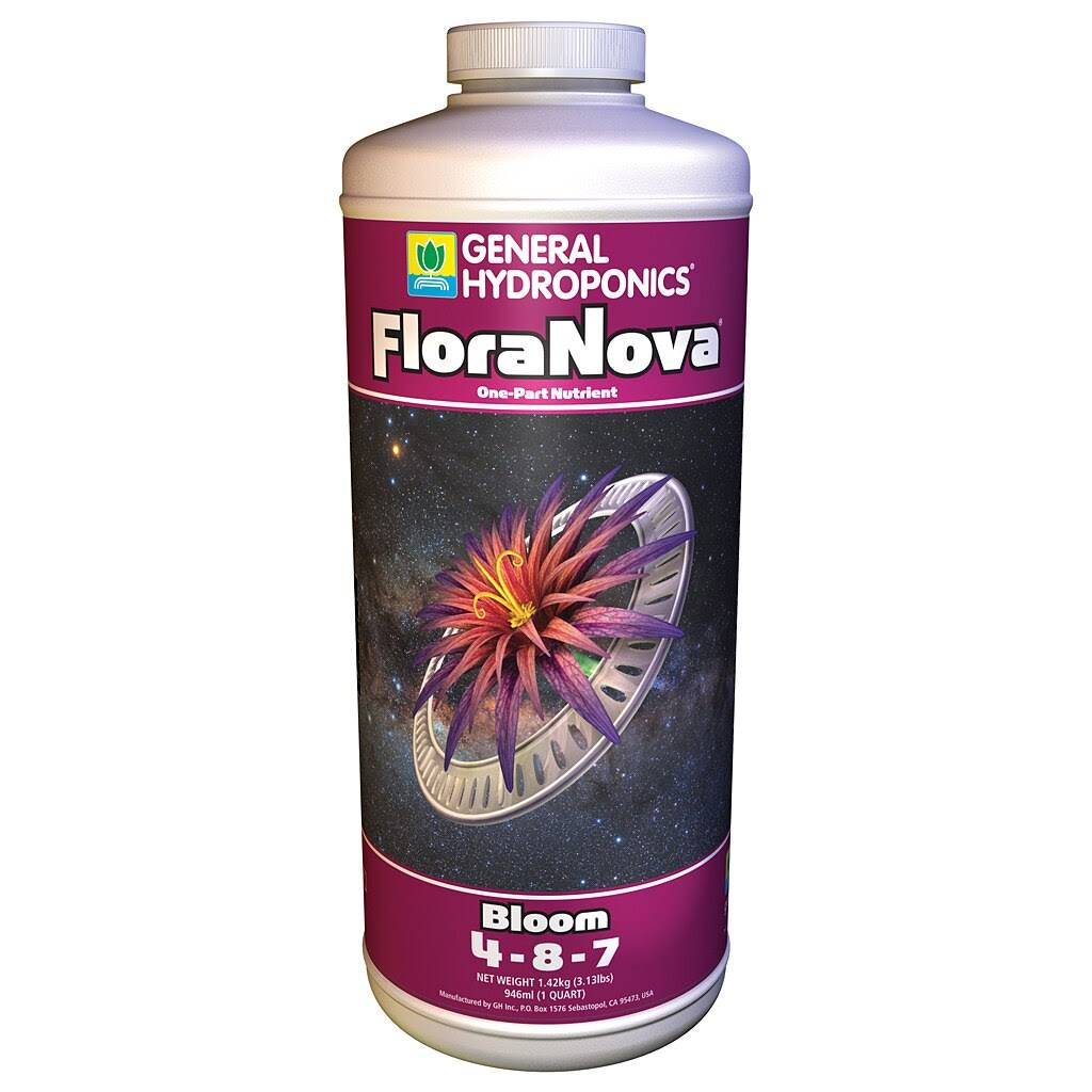 General Hydroponics Flora Nova Bloom Fertilizer - 1 Quart