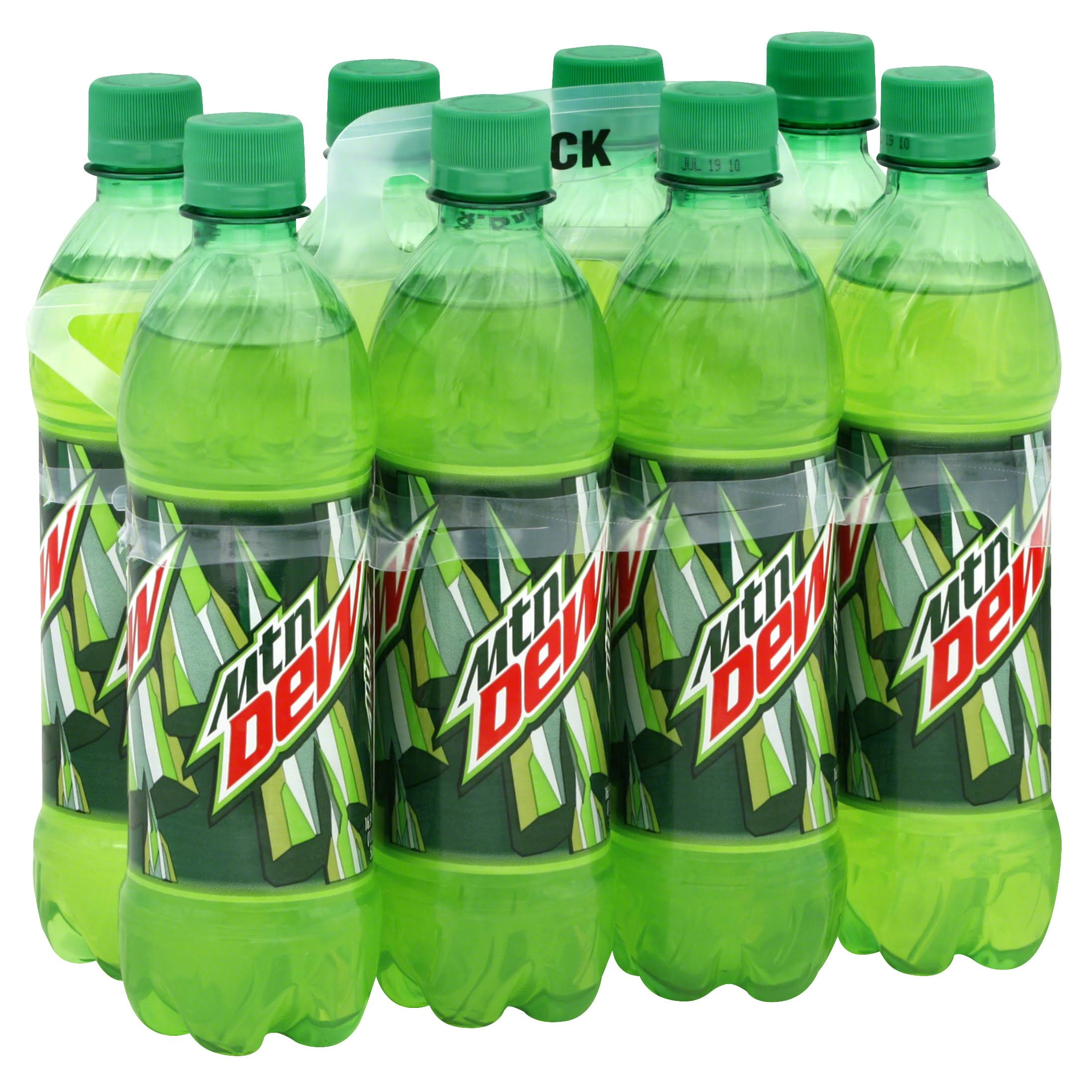 Mountain Dew - 16.9oz, 8 Pack