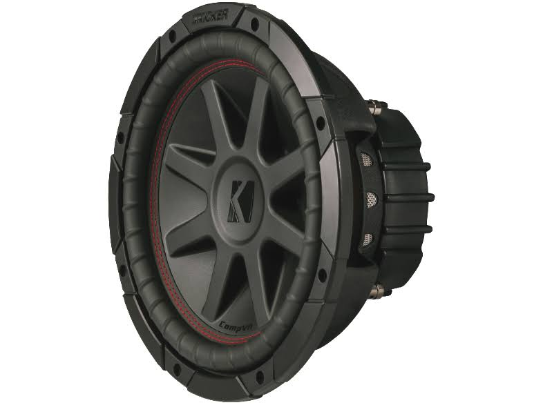 Kicker Subwoofer with Dual 4-Ohm Voice Coils