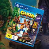 Crash Bandicoot N. Sane Trilogy, Crash Bandicoot: Warped, PlayStation 4, Gameplay
