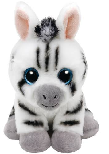Ty Beanie Babies Plush Toy - Stripes the Zebra