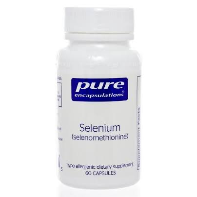 Pure Encapsulations Selenium - 150 Vegetable Capsules
