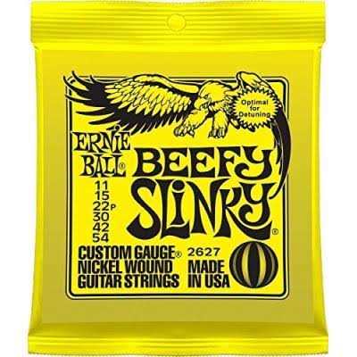 Ernie Ball Beefy Slinky Custom Gauge Nickle Wound Guitar Strings