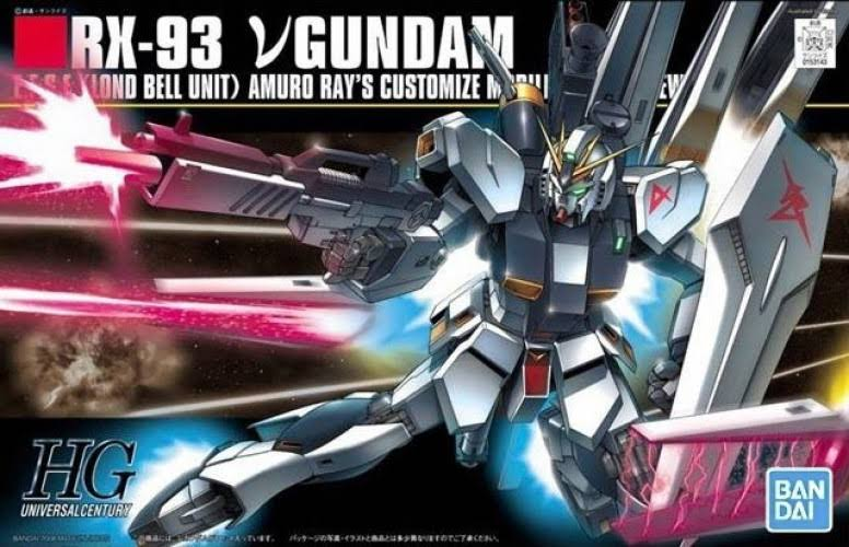 Bandai Hobby Gundam High Grade Universal Century Model Kit
