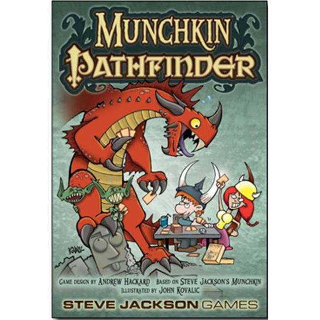 Steve Jackson Games Munchkin Pathfinder Card Game