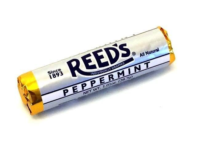 Reed's Candy Rolls - 1.01 oz Peppermint