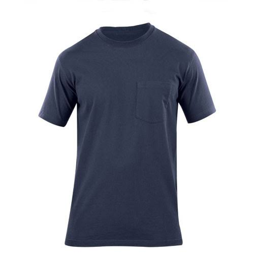5.11 Tactical Men's Professional Pocketed T Shirt - Navy, Large
