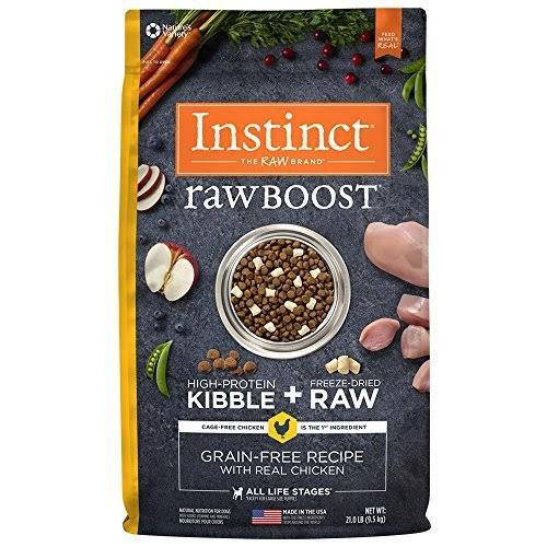 Nature's Variety Instinct Raw Boost Dry Dog Food - Chicken