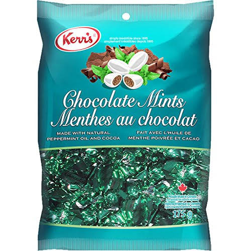 Kerr's Chocolate Mints Candies 175g {Imported from Canada}