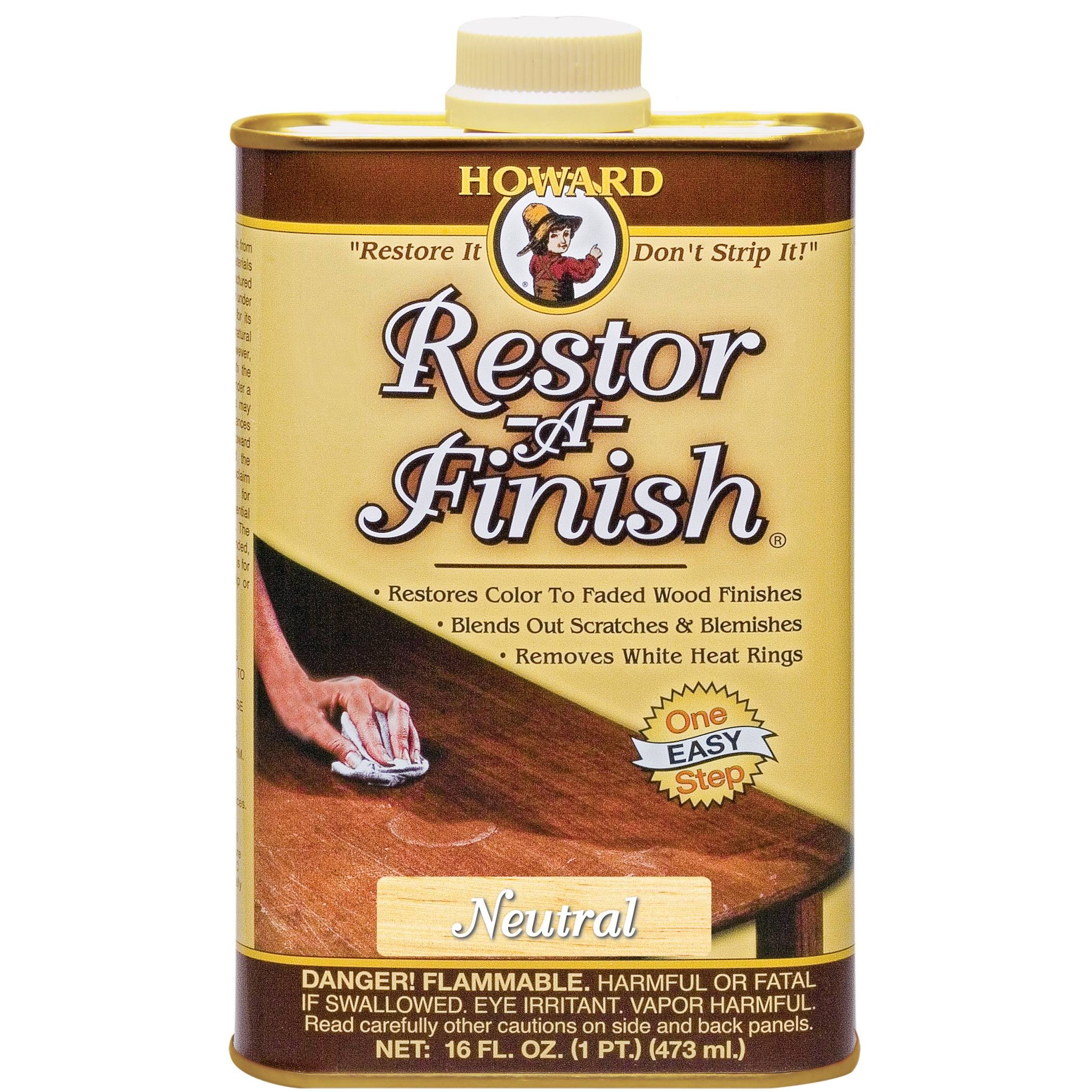 Howard RF1016 Restor A Finish - Neutral, 16oz