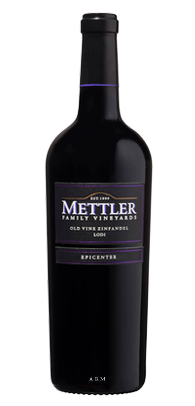 Mettler Family Vineyards Epicenter Old Vine Zinfandel - 2013, Lodi
