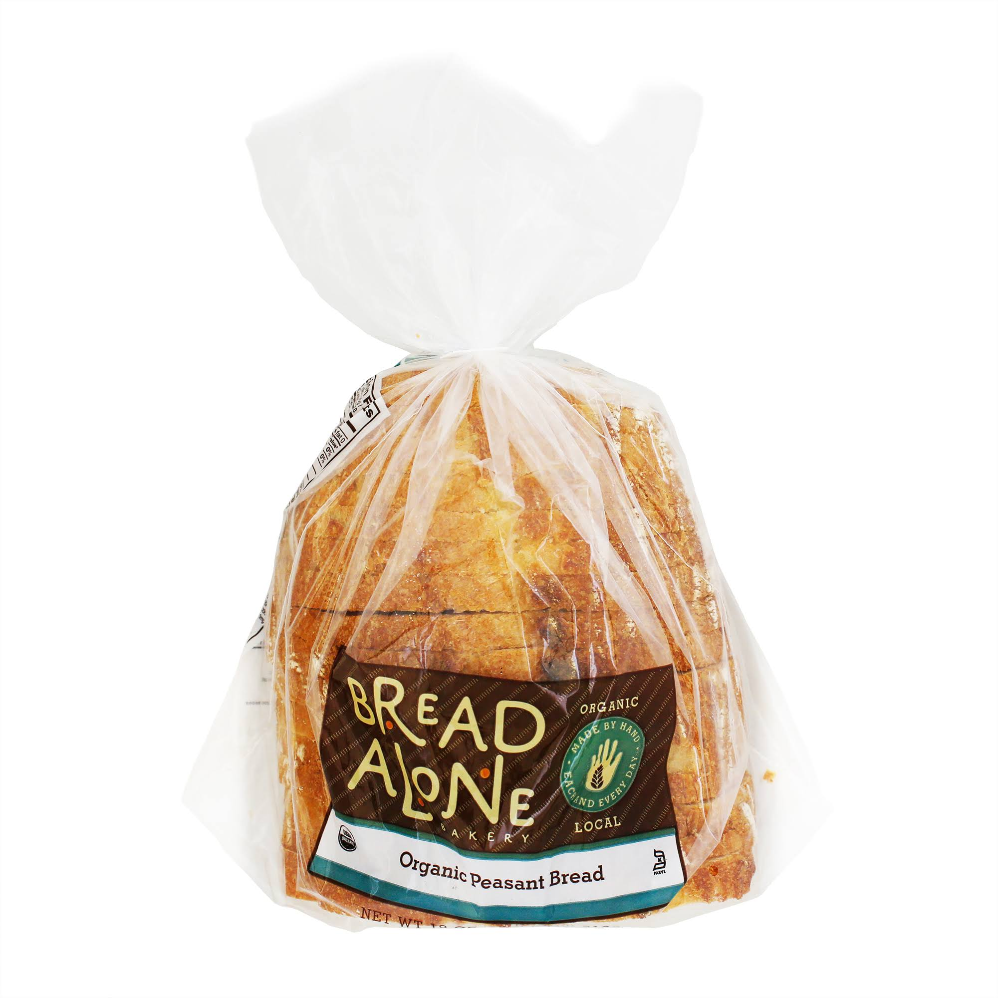 Bread Alone Bakery Bread, Organic, Peasant - 18 oz