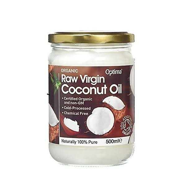 Optima Organic Raw Virgin Coconut Oil - 500ml