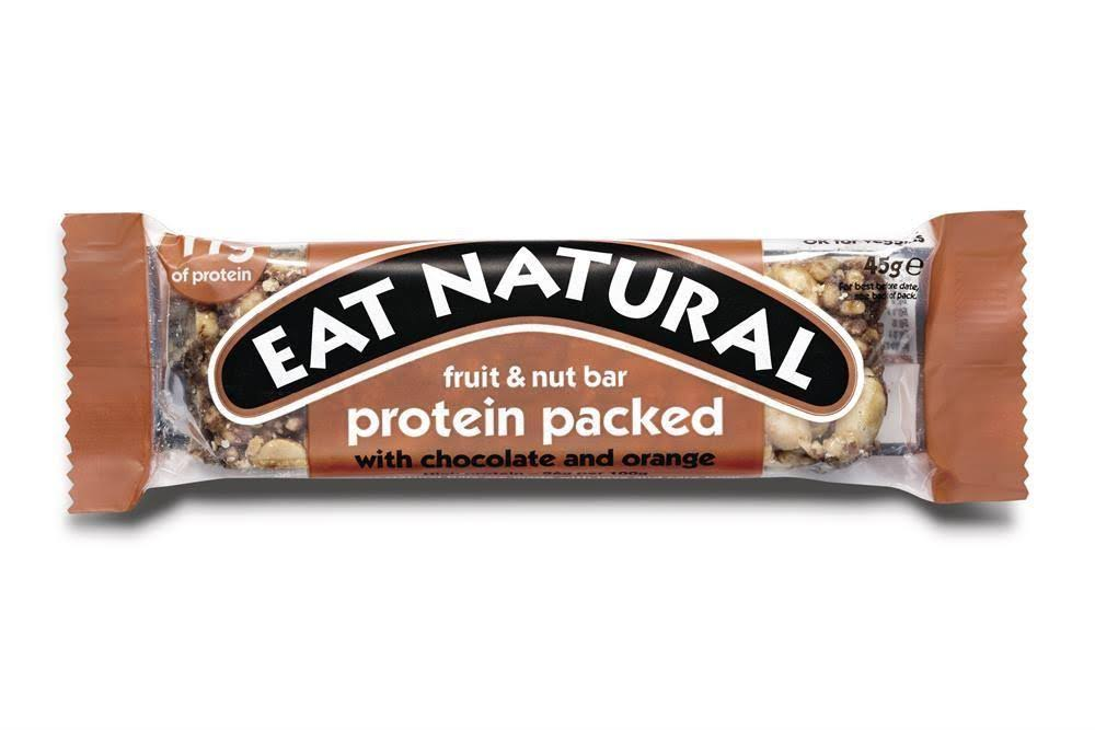 Eat Natural Fruit and Nut Protein Bar - Chocolate and Orange, 45g