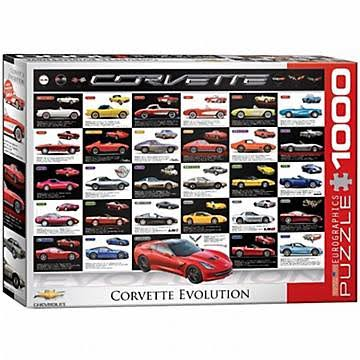 EuroGraphics Corvette Evolution Jigsaw Puzzle - 1000pcs