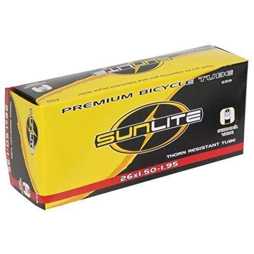 Sunlite Thorn Resistant Bicycle Tube - 26x1.50, 1.95 Schrader Valve