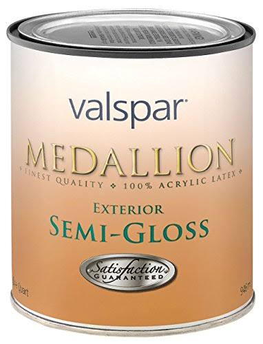 Valspar Clear Base Medallion Exterior Latex House & Trim Paint - 0.9l