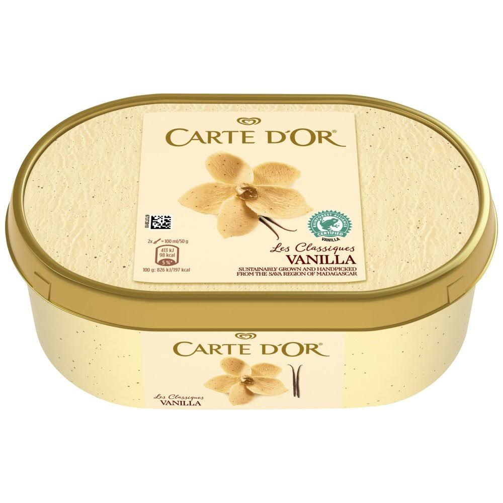 Carte D Or Vanilla Ice Cream Dessert - 1000ml