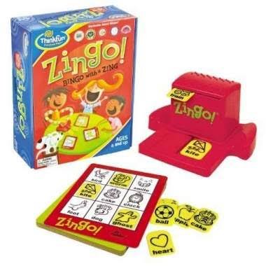 Zingo! Bingo With A Zing Game