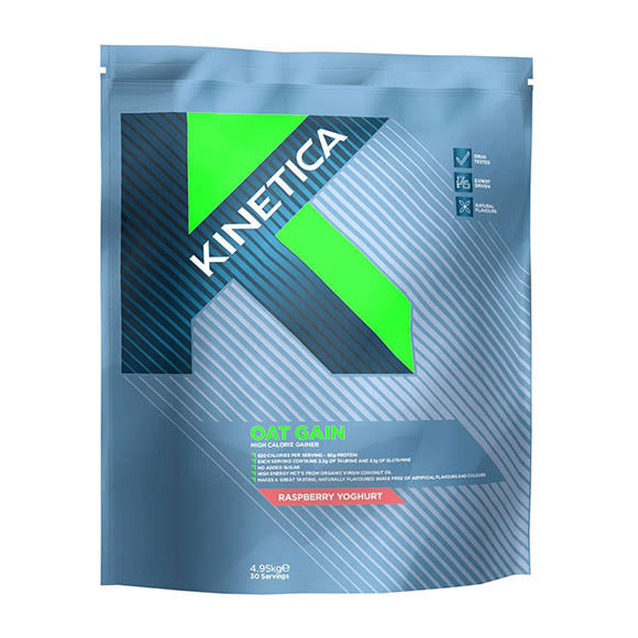 Kinetica Oat Gain Mass Gainer - Chocolate Caramel Nut, 4.8kg