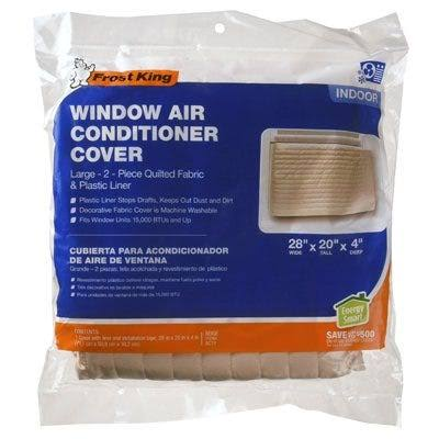"Thermwell AC11 Quilted Indoor Air Conditioner Cover - Large, up to 20""x28"""