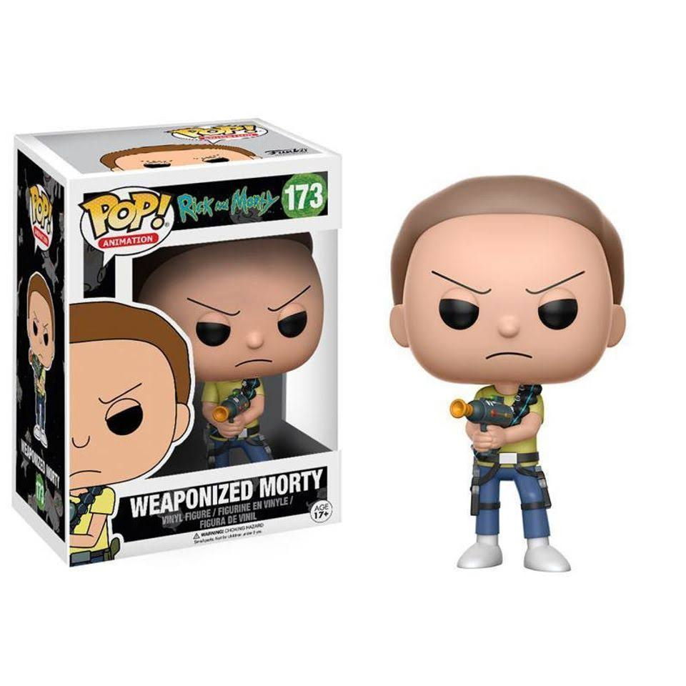 Funko Pop! Animation: Rick and Morty Vinyl Figure - Weaponized Morty