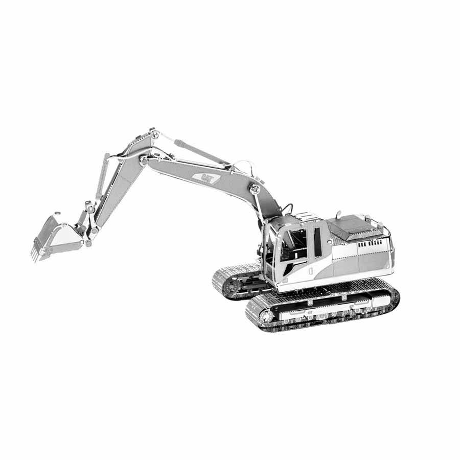 Fascinations Metal Earth Cat Excavator 3D Metal Kit