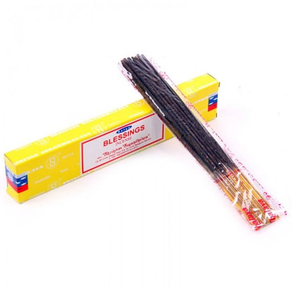 Satya Nag Champa Blessings Incense Sticks - 15g