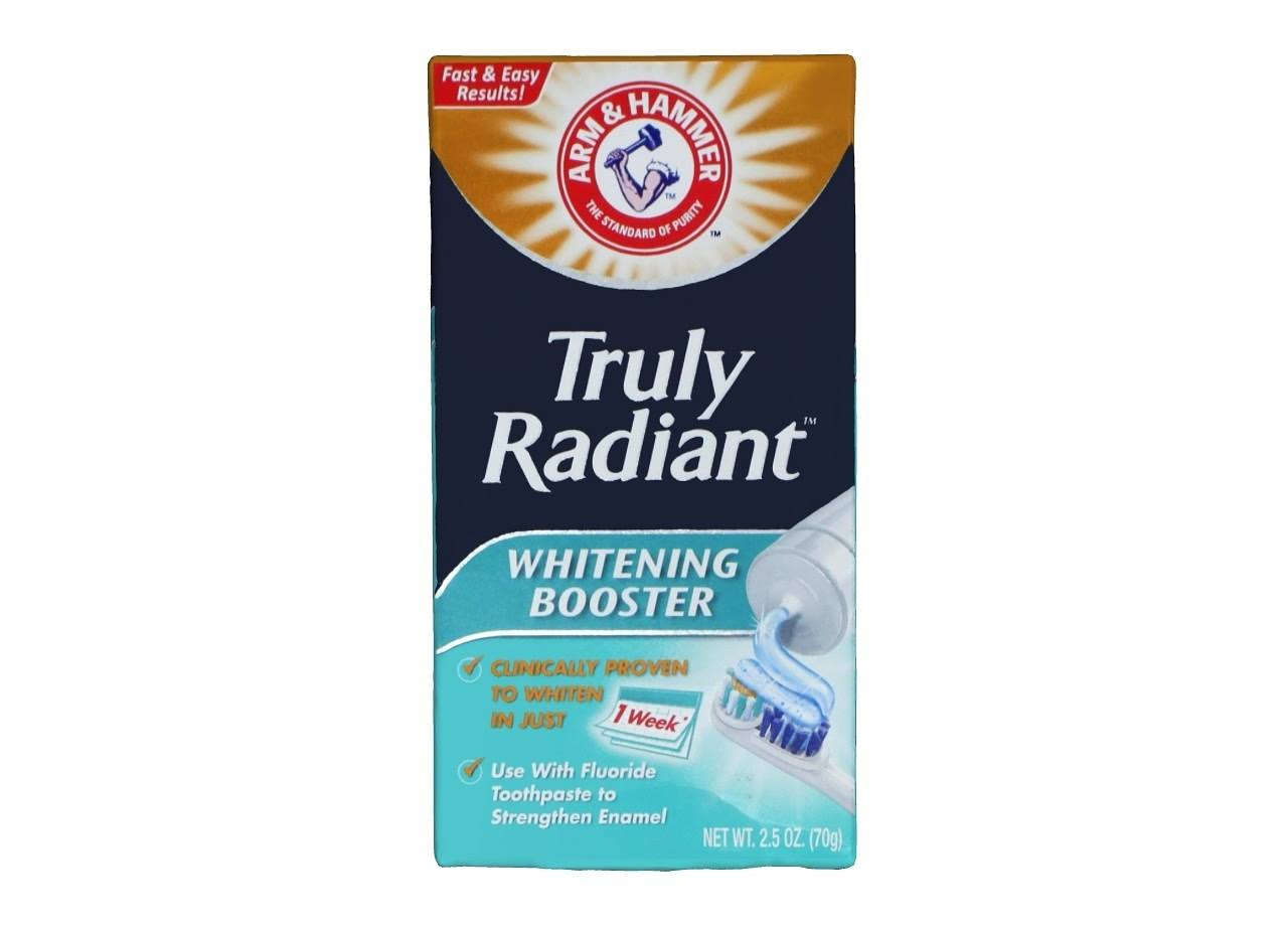Arm and Hammer Teeth Whitening Booster Toothpaste - 2.5oz