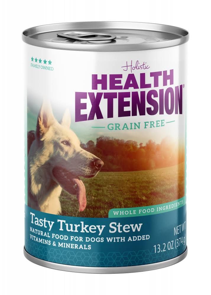 Health Extension Dog Food - Tasty Turkey Stew, 13.2oz